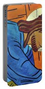 Jesus Falls Under The Cross Portable Battery Charger