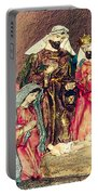 Jesus Is Born Portable Battery Charger