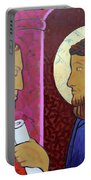 Jesus Is Condemned Portable Battery Charger