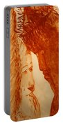 Jesus Meets Mother Mary On The Road To Calvary Portable Battery Charger