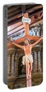 Jesus On The Cross In San Ramon, Bolivia Portable Battery Charger