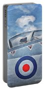 Jet Fighter By John Springfield Portable Battery Charger
