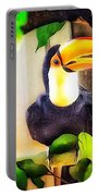 Jewel Of The Amazon Toco Toucan  Portable Battery Charger