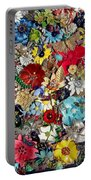 Jeweled Garden Portable Battery Charger