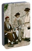 Jews In Jerusalem, C1900 Portable Battery Charger