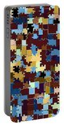 Jigsaw Abstract Portable Battery Charger