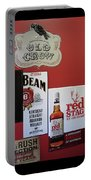 Jim Beam's Old Crow And Red Stag Signs Portable Battery Charger