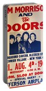 Jim Morrison And The Doors Poster Collection 3 Portable Battery Charger
