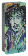 Jimi Hendrix 1 Portable Battery Charger