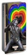 Jimi Hendrix Love On Capitol Hill Portable Battery Charger