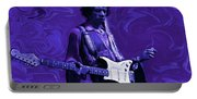 Jimi Hendrix Purple Haze Portable Battery Charger