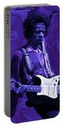 Jimi Hendrix Purple Haze Portable Battery Charger