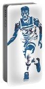 Jimmy Butler Minnesota Timberwolves Pixel Art 5 Portable Battery Charger