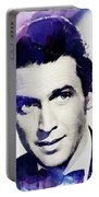 Jimmy Stewart, Vintage Actor Portable Battery Charger
