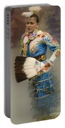 Pow Wow Jingle Dancer 7 Portable Battery Charger
