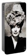 Joan Crawford, Hollywood Legend By John Springfield Portable Battery Charger
