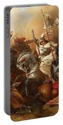 Joan Of Arc In The Battle Portable Battery Charger