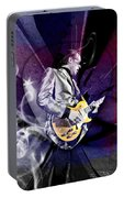 Joe Bonamassa Art Portable Battery Charger