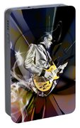 Joe Bonamassa Blue Guitarist Art Portable Battery Charger