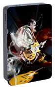 Joe Bonamassa Blue Guitarist Portable Battery Charger