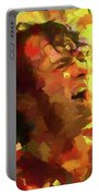 Joe Cocker Colorful Palette Knife Portable Battery Charger