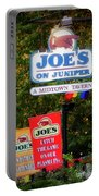 Joe's On Juniper Portable Battery Charger