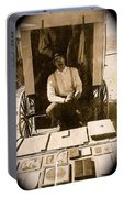 John A. Coffer  Traveling Tintype Photographer  Tombstone Arizona 1980-2009 Portable Battery Charger