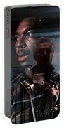 John Coltrane And Me Portable Battery Charger