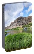 John Day River Landscape In Summer Portrait Portable Battery Charger