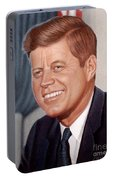 John F. Kennedy Portable Battery Charger