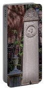 13- John Hancock Monument In Granary Burying Ground Eckfoto Boston Freedom Trail Portable Battery Charger