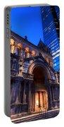 John Hancock Tower Trinity Church Boston Ma Portable Battery Charger