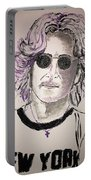 John Lennon Portable Battery Charger