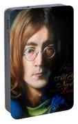 John Lennon - Wordsmith Portable Battery Charger