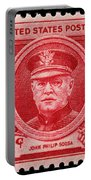 John Philip Sousa Postage Stamp Portable Battery Charger