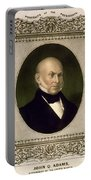 John Quincy Adams, 6th U.s. President Portable Battery Charger