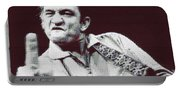 Johnny Cash Beer Cap Mosiac Portable Battery Charger