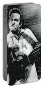 Johnny Cash Rebel Vertical Portable Battery Charger