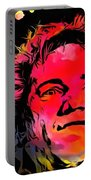 Johnny Rotten Paint Splatter Portable Battery Charger