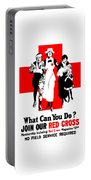 Join Our Red Cross Portable Battery Charger