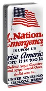 Arise America Before It Is Too Late - Join The Navy Portable Battery Charger