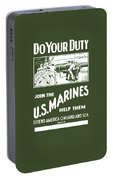 Join The Us Marines Portable Battery Charger