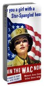 Join The Wac Now - World War Two Portable Battery Charger