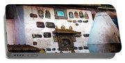Jokhang Temple Wall Lhasa Tibet Artmif.lv Portable Battery Charger