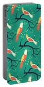 Jolly Bird Pattern Portable Battery Charger