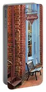 Jonesborough Tennessee Main Street Portable Battery Charger by Frank Romeo