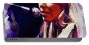 Joni Mitchell, Music Legend Portable Battery Charger