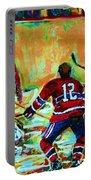 Jose Theodore The Goalkeeper Portable Battery Charger