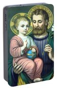 Joseph And Baby Jesus Portable Battery Charger