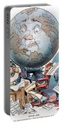Joseph Pulitzer Cartoon Portable Battery Charger